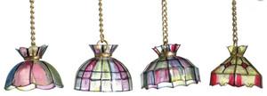 Non-Electric Tiffany Lights - 2 per pkg