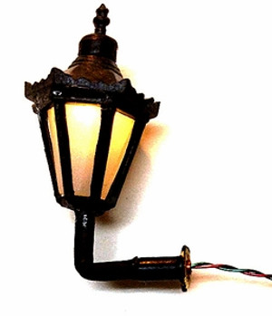 "Electric 1/2"" Scale Coach Light"