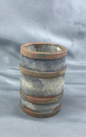 Aged Wooden Barrel