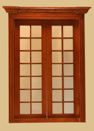 Classic French Double Door, Walnut
