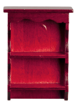 Mahogany Wooden Shelf