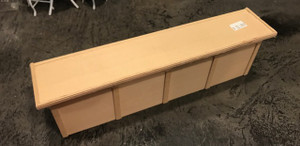 Unfinished Wood Counter - 10 3/8""