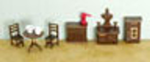 "1/4"" Scale Kitchen Set"