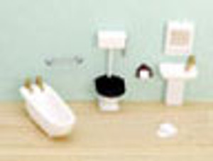 "1/4"" Scale Bathroom Set"