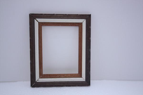 Tri Colour Picture Frame