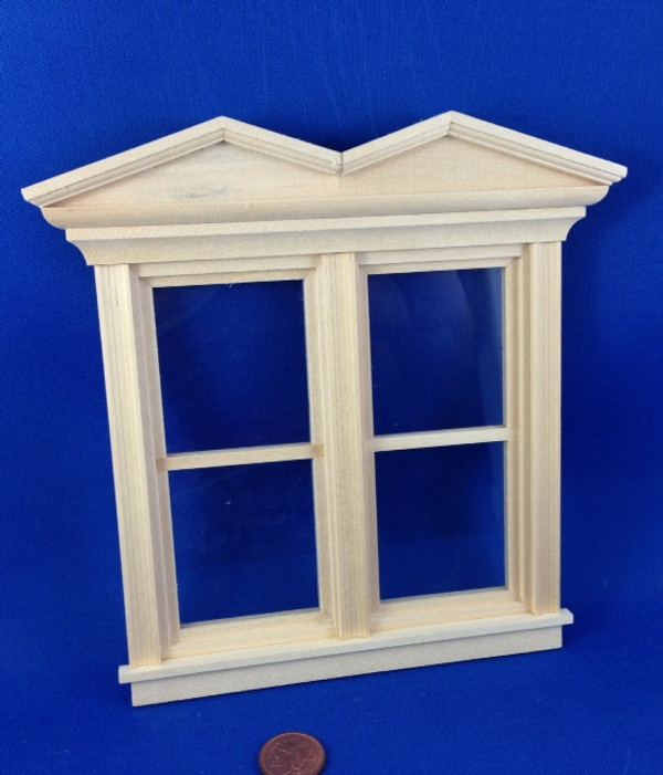 Double Hooded Victorian Window