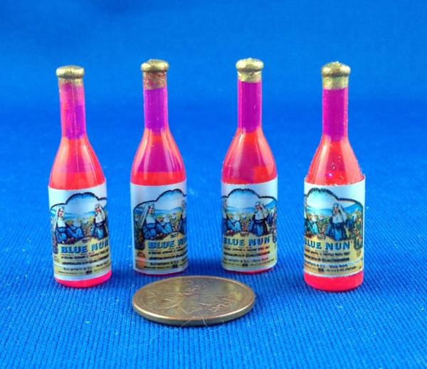 Wine Bottles - Set of 4