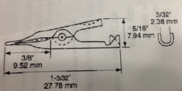 Toothless Copper Clips - Bag of 10