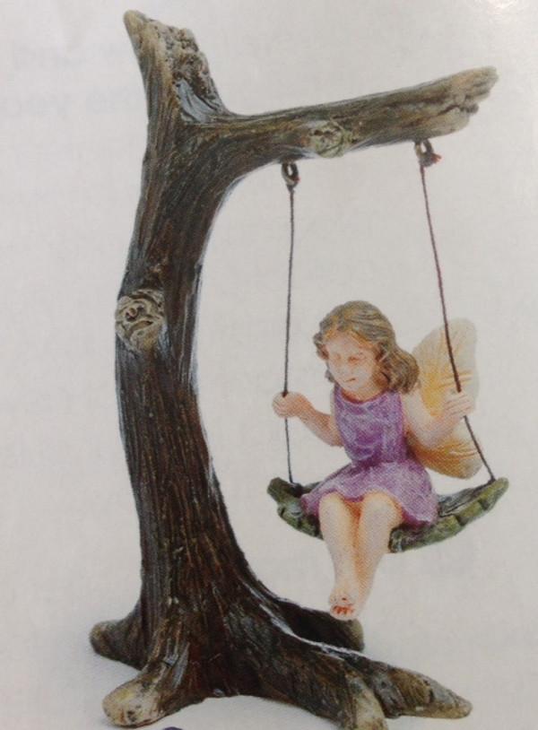 Fairy on Swing