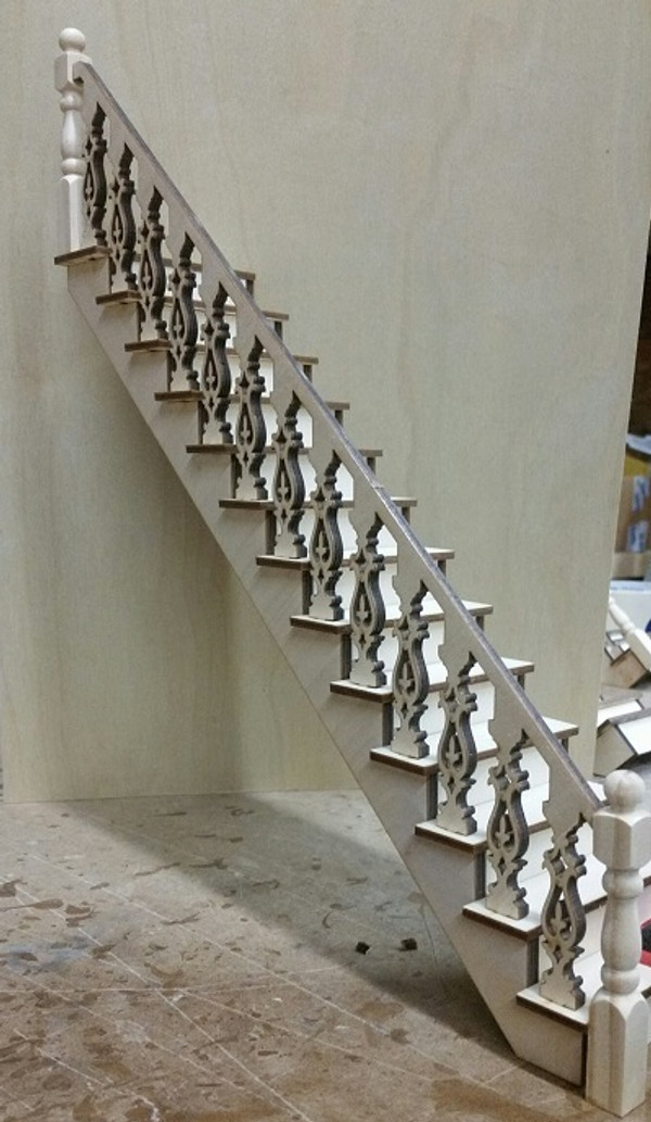 Lancaster Straight Staircase Kit