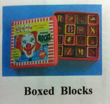 Boxed Wooden Blocks Kit