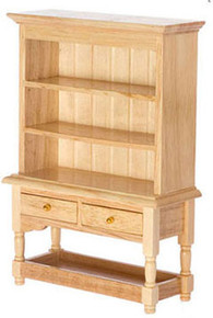 Oak Cabinet with Drawers