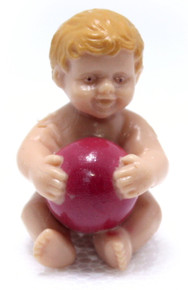 Rubber Baby with Ball