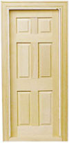 This is the door, but it is painted white.