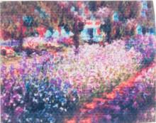 Unframed Monet Painting