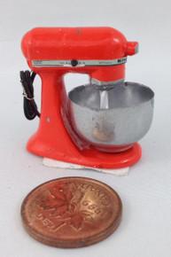Orange Electric Mixer