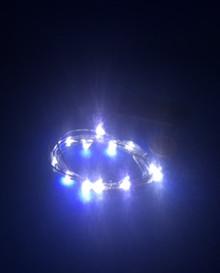 Bright white lights
