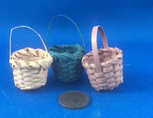 Set of 3 Baskets - Mixed Colours