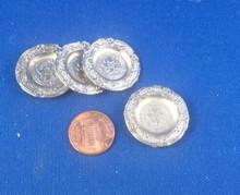 Set of 4 Metal Plates