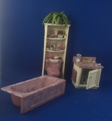 Bathroom Set by Debi Kolenchuk, Embraceables