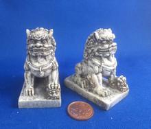 Stone Lion Set