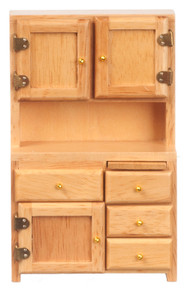 Kitchen Hutch - Oak