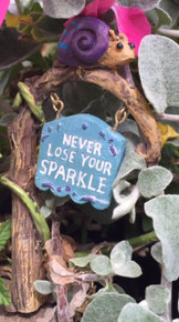 Fairy Garden Sign (Snail)