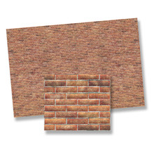 1/24 Scale Brick Paper - Light