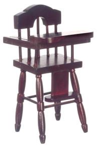 Mahogany High Chair