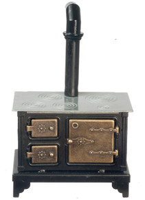 Black Metal Cook Stove