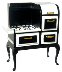Black 1920's Cook Stove