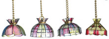 Non-Electric Tiffany Lights - 2 per pkg
