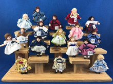LV Dolls - Handcrafted Locally #9-17