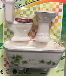 Bathroom Set - Green Ivy