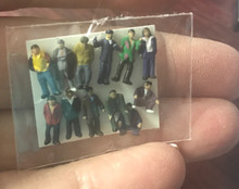 """N"" Scale People ""A"" - Pkg of 12"