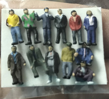 """N"" Scale People ""B"" - Pkg of 12"