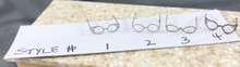 Metal Eyeglasses - Choice of Style