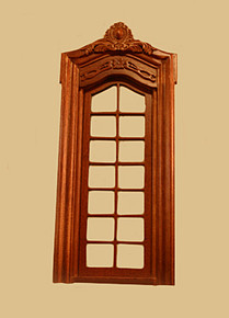 Pollinade Single French Door, Walnut