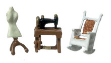1/144 Scale Sewing Room Set