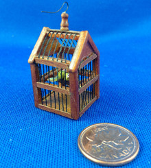 Hansson Bird Cage - Walnut