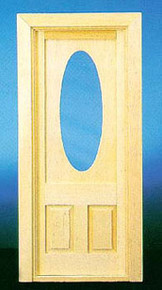 Door with Oval Window