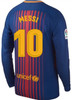 NIKE BARCELONA 2018 MESSI HOME L/S JERSEY