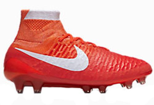 NIKE MAGISTA OBRA FG Women's firm ground soccer cleats crimson