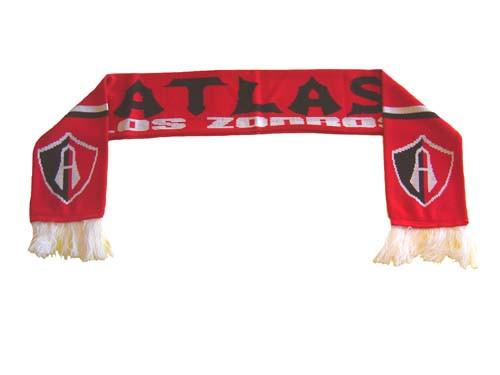 ATLAS RED/BLACK SCARF