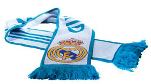 ADIDAS REAL MADRID 2018 SCARF WHITE/TEAL