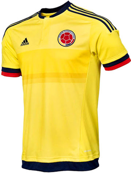 ADIDAS COLOMBIA 2015 BOYS HOME JERSEY