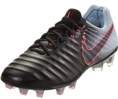 NIKE JR TIEMPO LEGEND VII FG Black/Armory Navy