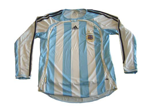 ADIDAS ARGENTINA 2006 HOME L/S JERSEY