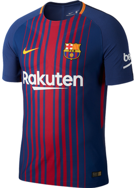 NIKE BARCELONA 2018 VAPOR MATCH PLAYER JERSEY