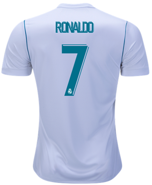 ADIDAS REAL MADRID 2018 RONALDO HOME JERSEY